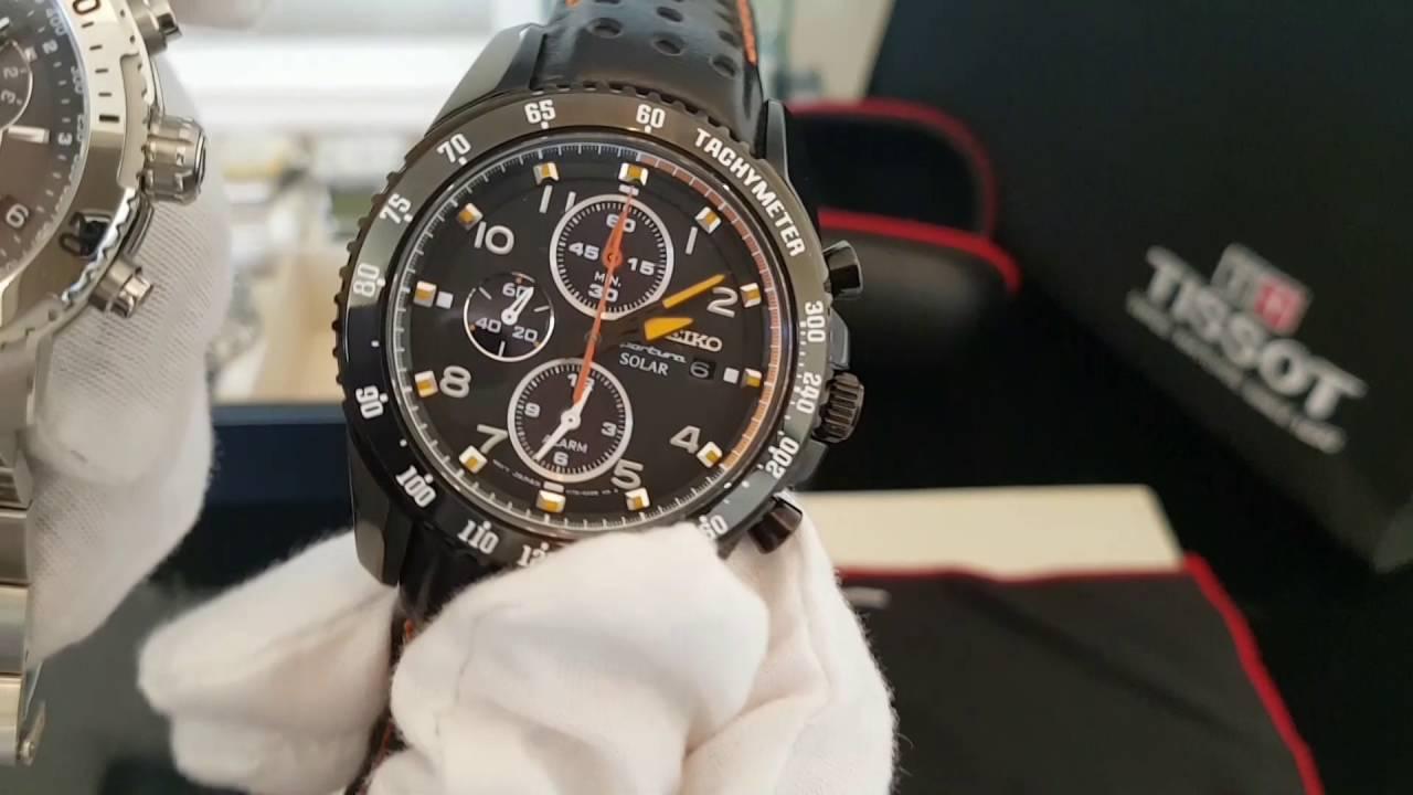 9ef8e1caf New Seiko Sportura Alarm Chrono Solar - Tissot PRS 200 - Great Watch  Complications For £400