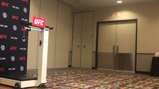 UFC on FOX 31: Official  Weigh Ins Live Stream - MMA Fighting