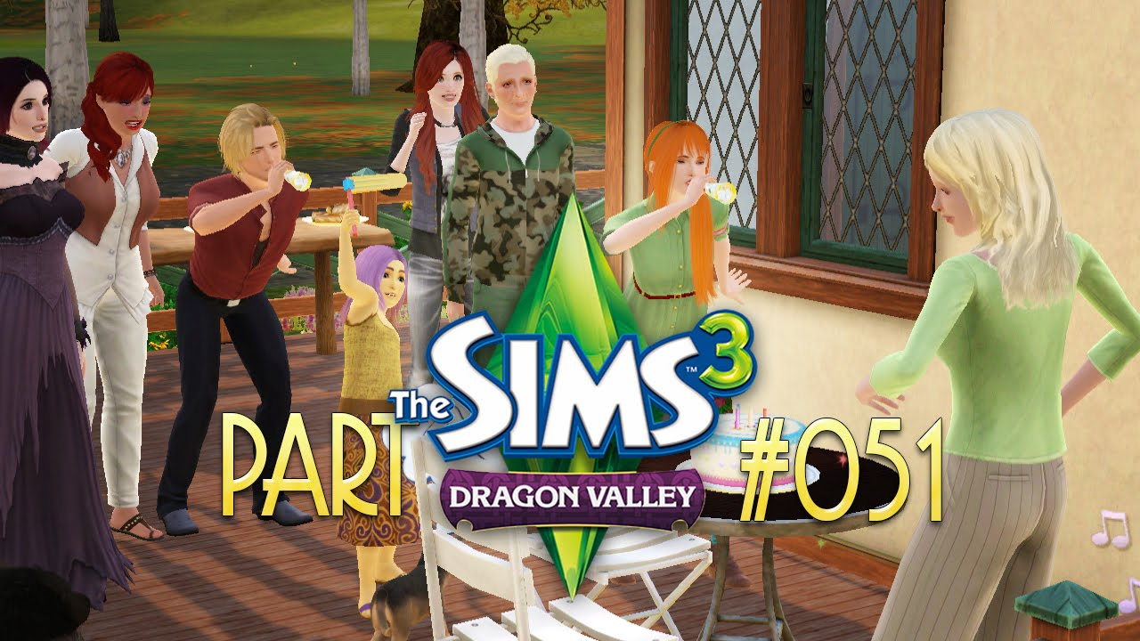 051 happy brithday let 39 s play die sims 3 alle. Black Bedroom Furniture Sets. Home Design Ideas