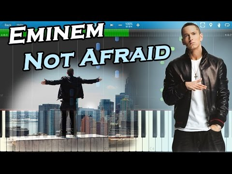 Eminem - Not Afraid [Piano Tutorial] Synthesia
