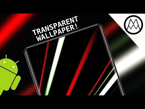 Insane Holographic AND Transparent Wallpapers For Android!