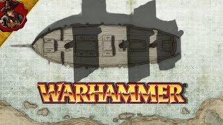 Warhammer Fantasy Map Making   Boats Boats Boats