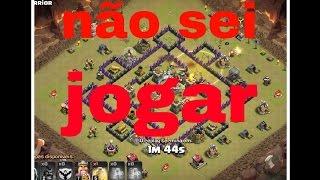 O PIOR JOGADOR DE CLASH OF CLANS DO MUNDO