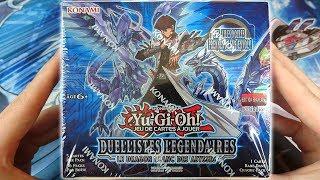 Yu-Gi-Oh! Ouverture BOITE de BOOSTERS Duellistes Legendaires Le DRAGON BLANC des Abysses ! ...