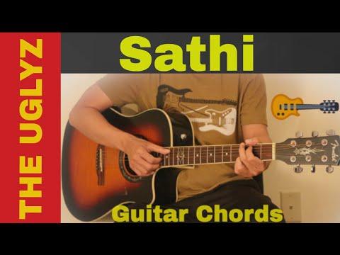Sathi The Uglyz Guitar Chords Youtube
