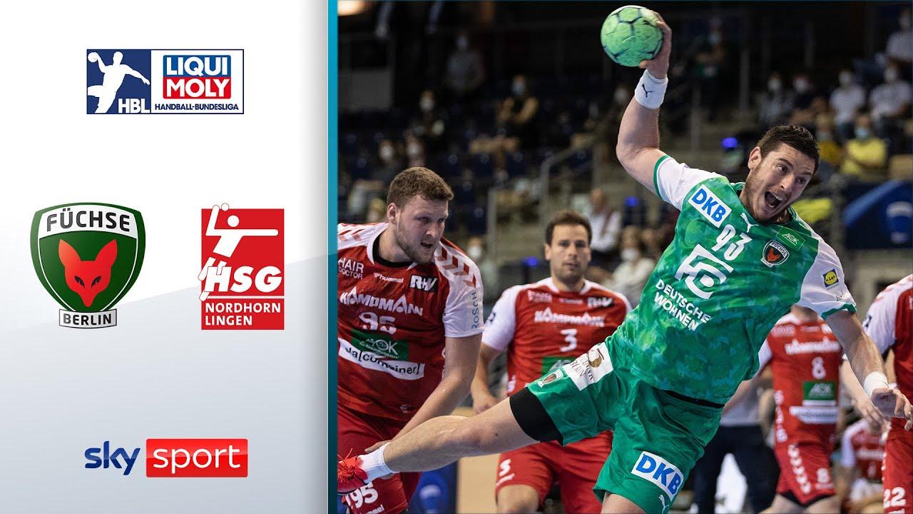 Füchse Berlin - HSG Nordhorn-Lingen | Highlights - LIQUI MOLY Handball-Bundesliga