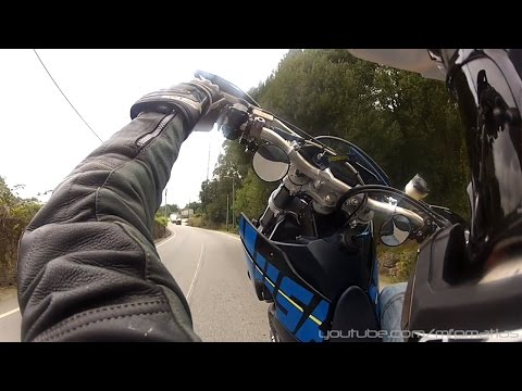 Husaberg FS550e Supermoto - FUN! Wheelies & Twisties