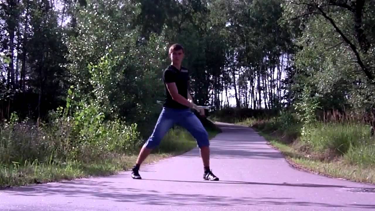 Freestyle with Nunchaku