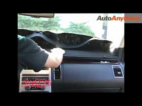 DashMat Installation - How To Install A Dashboard Cover