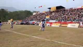 goal moment nepal police club vs hongkong nepalese football team 15th bsgc 2069