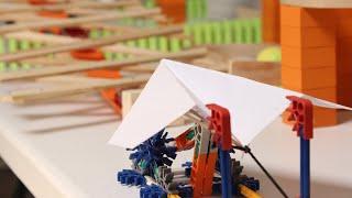 Paper Plane Trickshot Machine