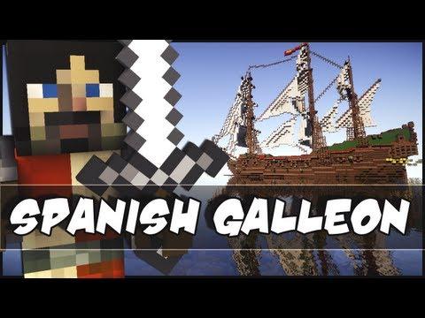 Minecraft - Epic Ship : Spanish Galleon