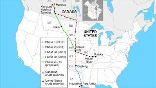Oil spill reported from keystone pipeline in north dakota