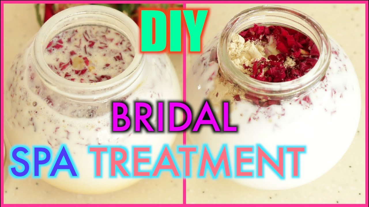 how to do bridal spa treatment at home superprincessjo youtube