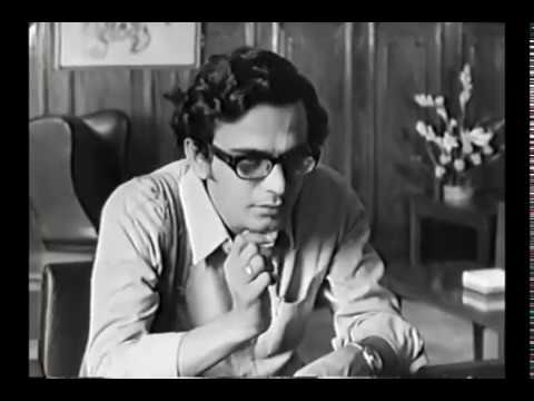 Job interview scene from Satyajit Ray's 'The Middle Man' (1975)