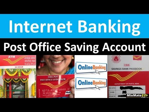 How To Activate Internet Banking For POST OFFICE Saving Bank Account ||