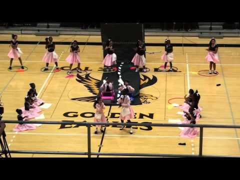 M.L.King Jr Elementary School L.A.'s Best Drill Team Performance 2014