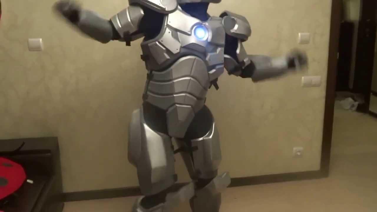 Как сделать костюм «Железного человека»? - технологические 14