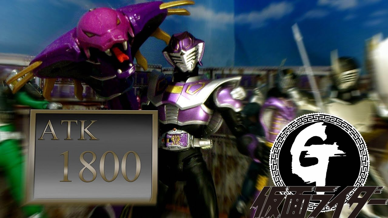 Yu-Gi-Oh! & Kamen Rider Ryuki-Shadow Games Stop Motion遊戯王&仮面ライダーリュウキ- 闇のゲーム 遊戲王龍騎-黑暗遊戲
