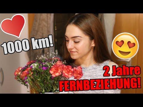 Nach ZWEI Jahren FERNBEZIEHUNG - 1000 km ÜBERRASCHUNG an FREUNDIN  !!