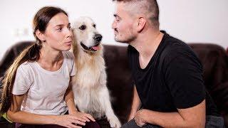 Jealous Dog Won't Let Me Kiss My Wife!