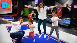 Прыгаем Выше Головы В Батутном Парке Развлекательный Центр Для Всей Семьи Смеемся И Падаем
