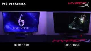 HyperX SSD en PS3 Prueba Extrema