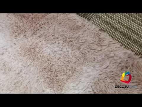 Gradient Fur Rugs Video