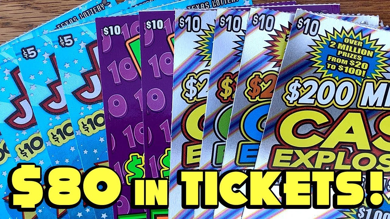 WINS! 💰 **$80 TICKETS** NEW Bonus Jackpot, Wild 10s + ✪ TEXAS LOTTERY  Scratch Off Tickets
