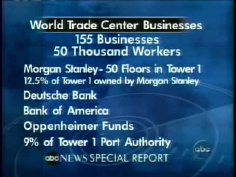 9/11 Occupants Morgan Stanley Deutsche Bank BofA Oppenheimer Port Authority