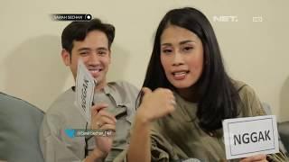 Main Games 'Boleh Atau Ngga' Bersama Pasangan Tarra Budiman dan Gya Sadiqah