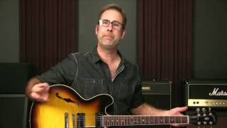 Beginning Blues Lesson: Blues In A With The A Minor Blues Scale Box 1