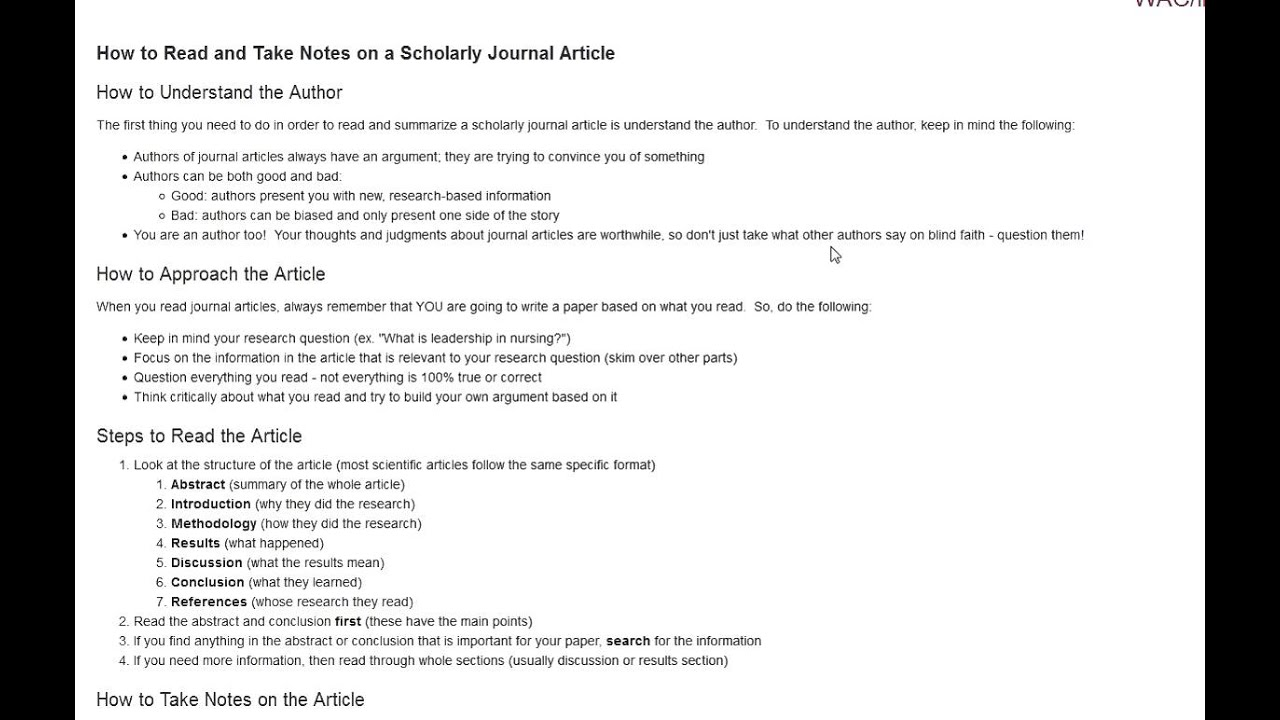 how to write a nursing journal