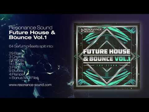 Future House and Bounce Vol 1 for Serum | Resonance Sound