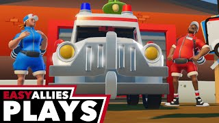 Easy Allies Plays The Stretchers - Rescue 911