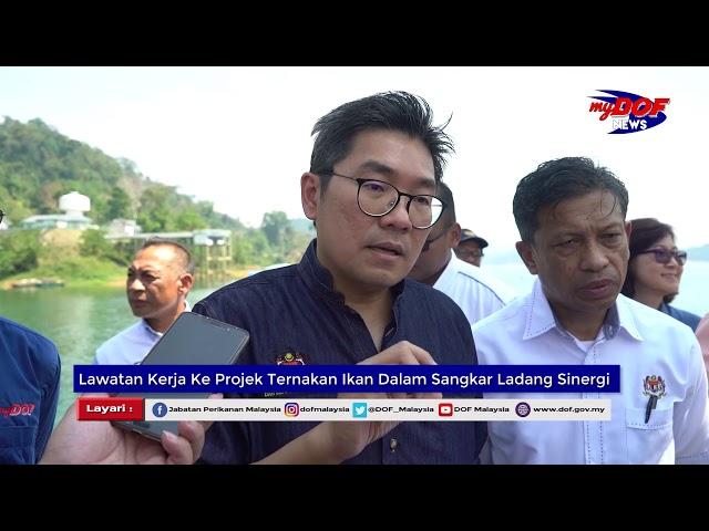 23 April 2019 : Ternakan Ikan Dalam Sangkar Ladang Sinergi Tasik Temenggor