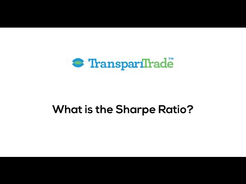What is the Sharpe Ratio?