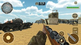 World War 2 Army Survival FPS Sniper Shooter (by The Game Feast) Android Gameplay [HD]