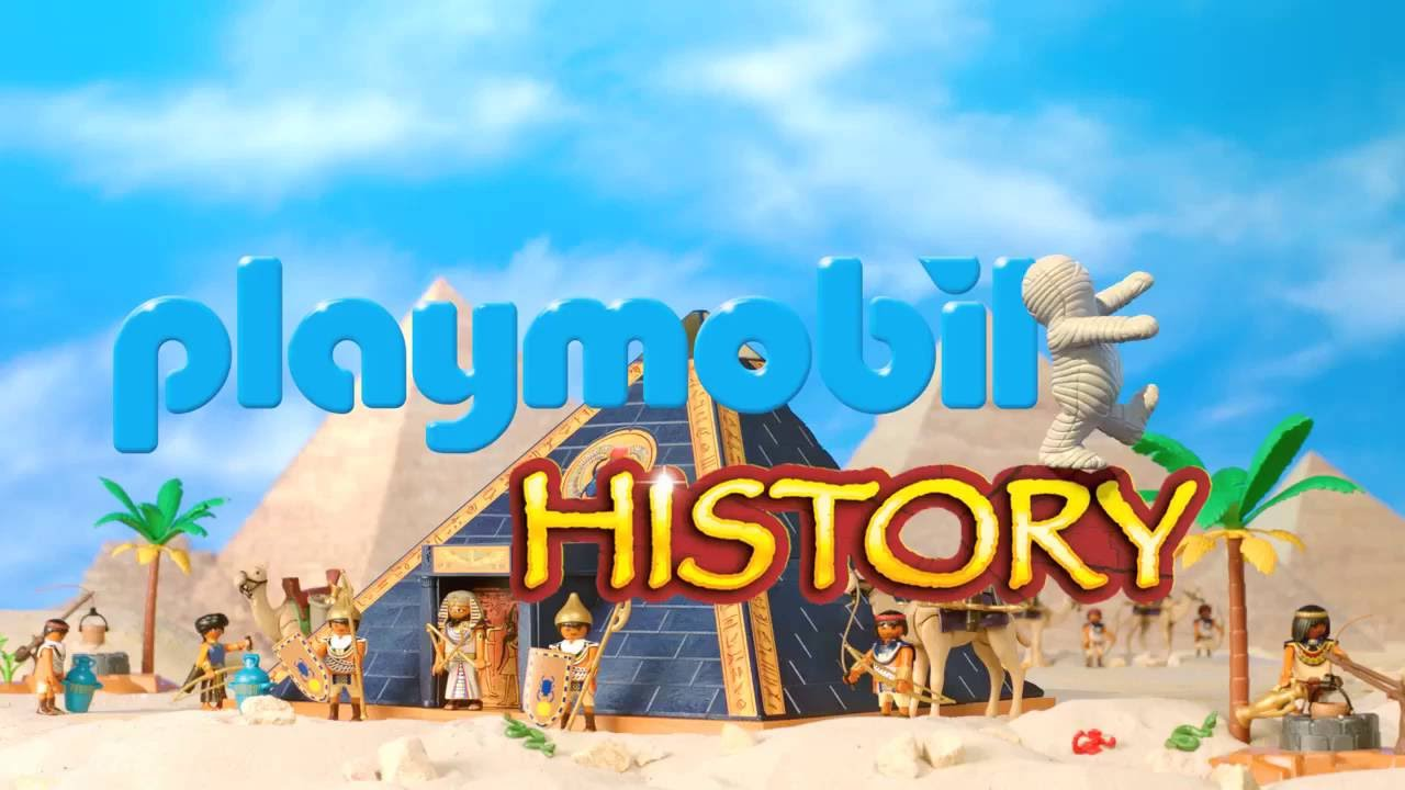playmobil history pyramide des pharao 5386 r mische galeere 5390 youtube. Black Bedroom Furniture Sets. Home Design Ideas