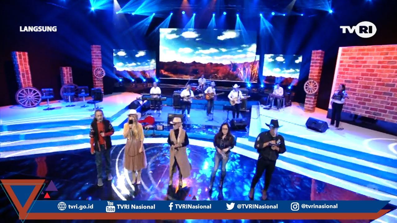Ditutup Dengan Penampilan All Artist Yang Tampil Pada Musik Indonesia Country TVRI
