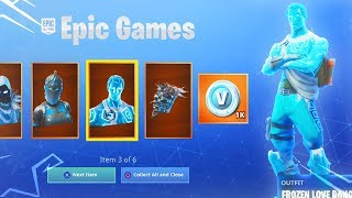 Comment débloquer le nouveau bundle FROZEN LEGENDS dès maintenant! (New Fortnite Battle Royale Skins)
