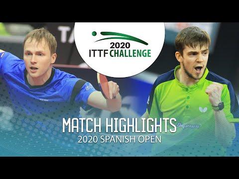 Benedikt Duda Vs Kirill Gerassimenko   2020 ITTF Spanish Open Highlights (Final)