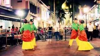 Romantic Malay Dance in Asia