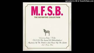 """MFSB, officially standing for """"Mother Father Sister Brother"""", was a..."""