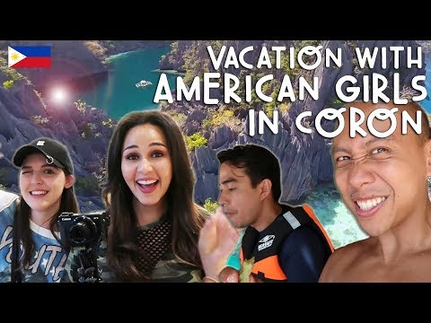 VACATION WITH AMERICAN GIRLS IN CORON, PHILIPPINES | Vlog #252