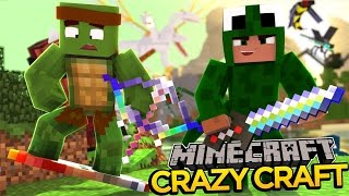Minecraft - CRAZYCRAFT 3 - WE STOLE NOTCH'S MINECRAFT MONEY! #2