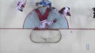 Kazakhstan vs. Poland - 2015 IIHF Ice Hockey World Championship Division I Group A