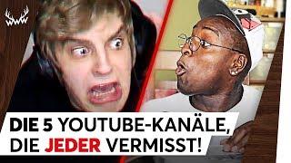 5 YouTube-Kanäle, die JEDER vermisst! | TOP 5