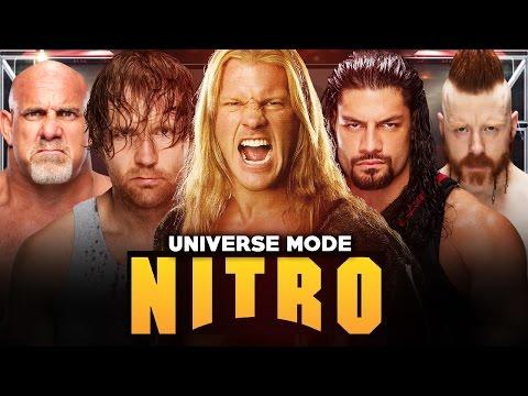 WWE 2K17 CO-OP UNIVERSE MODE   WCW EP16: ALL HELL BREAKS LOOSE!