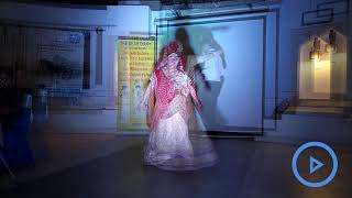Ghoomar dance performed by a girl with Down's Syndrome